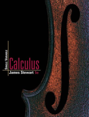 Single Variable Calculus - James Stewart