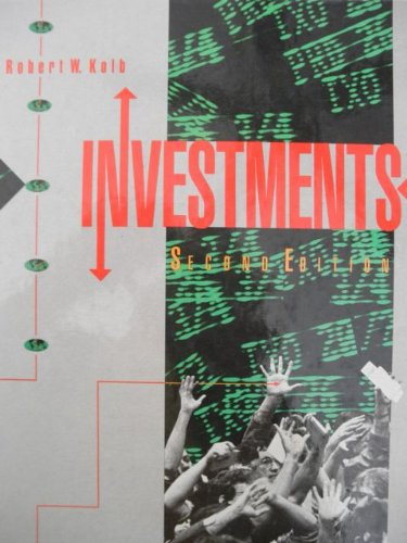 Investments - Robert W Kolb