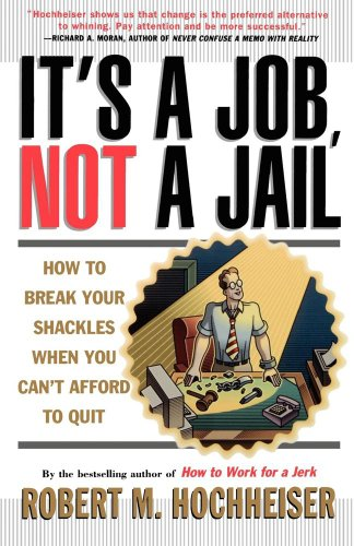 Its a Job Not a Jail: How to Break Your Shackles When You Cant Afford to Quit - Robert M. Hochheiser