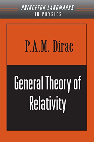 General Theory of Relativity (Paperback) - Paul A. M. Dirac