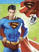 Superman Returns Color & Activity Book: With temporary tattoos
