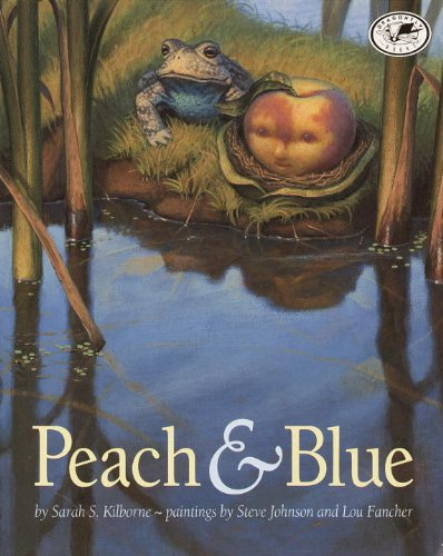 Peach And Blue (Turtleback School  &  Library Binding Edition) - Sarah S. Kilborne