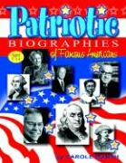 Patriotic Biographies (Paperback) - Marsh, Carole