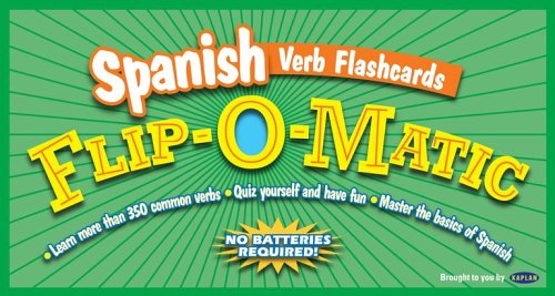Kaplan Spanish Verb Flashcards Flip-O-Matic - Kaplan