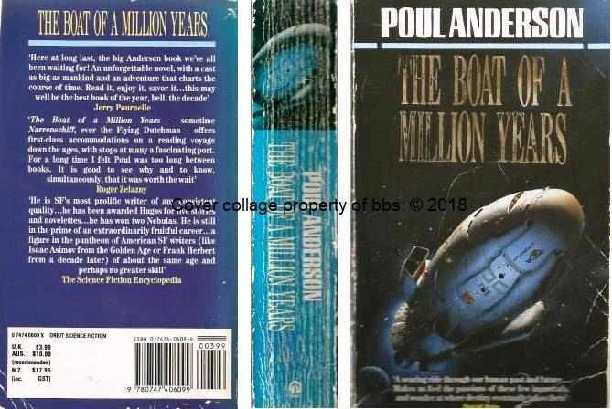 The Boat Of A Million Years - Anderson, Poul
