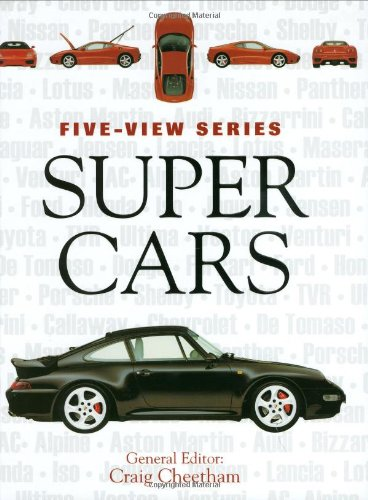 Supercars: The World's Most Exotic Sports Cars (Five-View) - Craig Cheetham