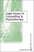 Legal Issues in Counselling & Psychotherapy