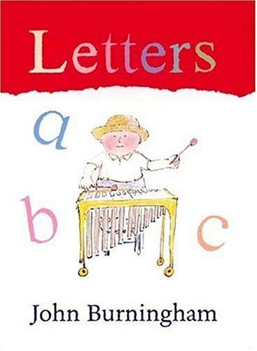 Letters (First Steps Board Books) - John Burningham