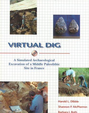 Virtual Dig : A Simulated Archaelogical Excavation of a Middle Paleolithic Site in France - Barbara J. Roth; Shannon P. McPherron