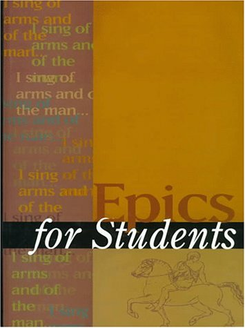 Epics for Students Vol 1 - Marie Lazzari; Elizabeth Bellalouna