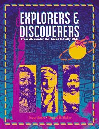 Explorers and Discoverers Vols. 1-4 : From Alexander the Great to Sally Ride - Pear, Nancy; Baker, Daniel B.; Hoehner, Jane