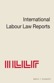 International Labour Law Reports: 10
