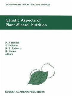 Genetic Aspects of Plant Mineral Nutrition: The Fourth International Symposium on Genetic Aspects of Plant Mineral Nutrition, Canberra, Australia, ... (Developments in Plant and Soil Sciences)