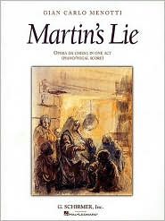 Martin's Lie: Vocal Score