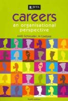 Careers: An Organisational Perpsective: 4th Edition - Schreuder, Dries
