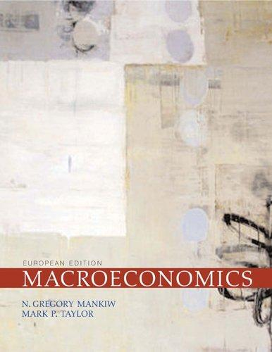 Macroeconomics. - Mankiw, N. Gregory and Mark P. Taylor