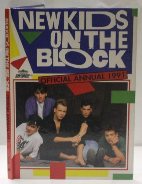New Kids On The Block Official Annual 1991 - No stated author