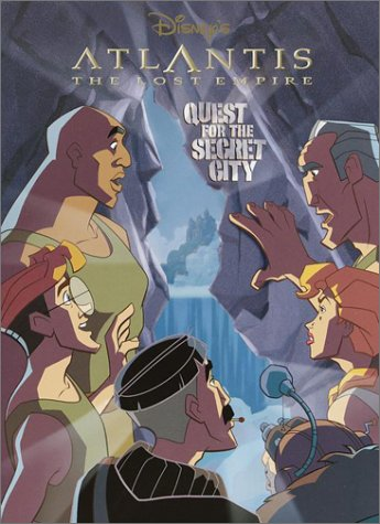 Atlantis: Quest for the Secret City (Super Coloring Time) - RH Disney