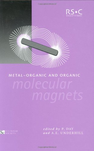 Metal-Organic and Organic Molecular Magnets: RSC (Special Publications) - Peter Day; Alan E Underhill; The Royal Society; Phil Hurst
