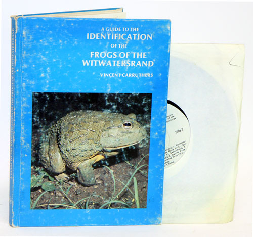 A guide to the identification of the frogs of the Witwatersrand. - Carruthers, Vincent.