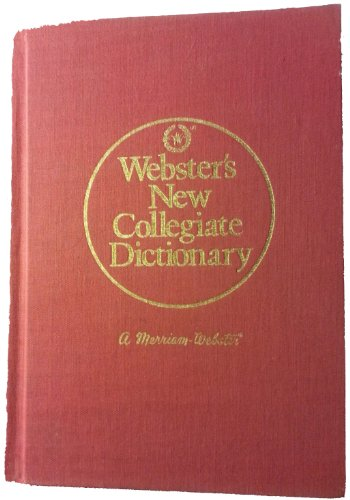 Webster's New Collegiate Dictionary - Henry B. Woolf