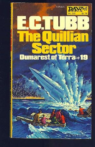 The Quillian Sector (Dumarest of Terra #19) - E. C. Tubb