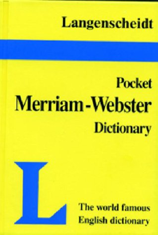 Langenscheidt's Pocket Dictionary Merriam-Webster English - Langenscheidt