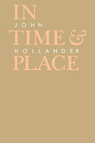 In Time and Place (Johns Hopkins: Poetry and Fiction) - John Hollander