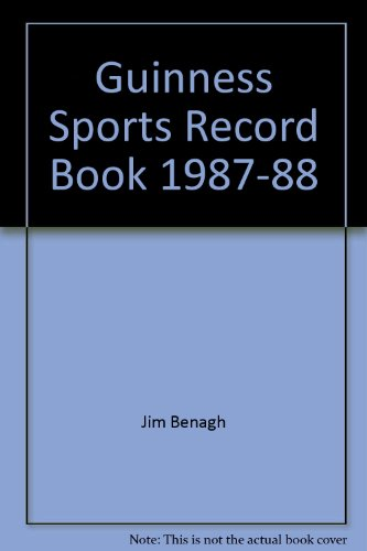 Guinness Sports Record Book 1986-1987 - Stan Greenberg