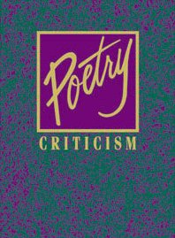 Poetry Criticism (Poetry Criticism)Volume 2 - Robyn V. Young