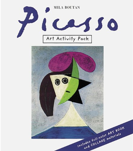 Art Activity Pack: Picasso (The Art Activity Pack Series) - Mila Boutan