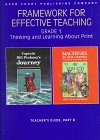 Framework for Effective Teaching: Grade 1 ; Thinking and Learning About Print : Teacher's Guide - McGraw-Hill