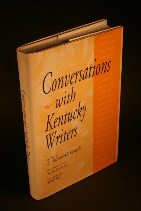 Conversations with Kentucky writers - Beattie, L. Elisabeth, 1953-