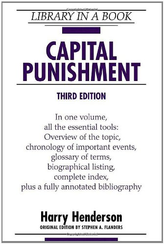 Capital Punishment (Library in a Book) - Harry Henderson