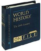 World History on File& #153; , Volume 4: The 20th Century, Updated Edition