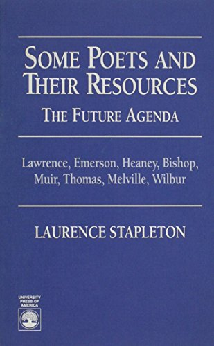 Some Poets and Their Resources: The Future Agenda - Laurence Stapleton