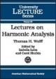 Lectures on Harmonic Analysis (University Lecture Series)