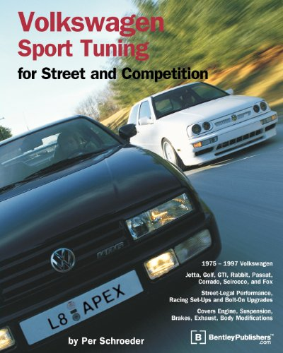 Volkswagen Sport Tuning: For Street and Competition (Engineering and Performance) - Per Schroeder