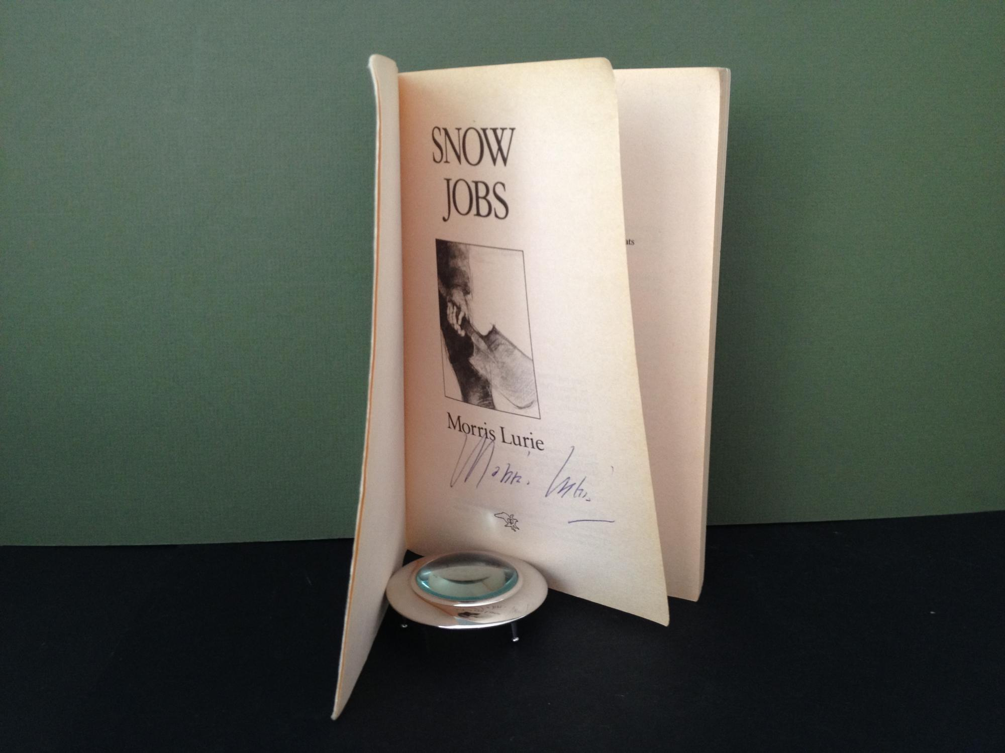 Snow Jobs [Signed] - Lurie, Morris