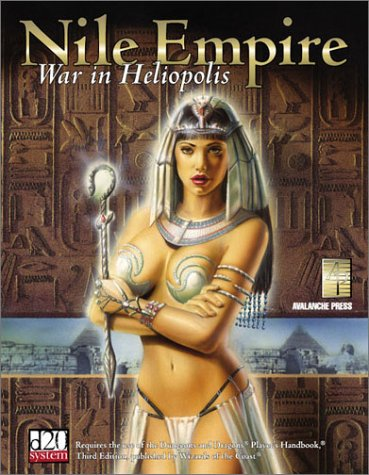 Nile Empire : War in Heliopolis - Fred Jandt; Phythyon, John R., Jr.