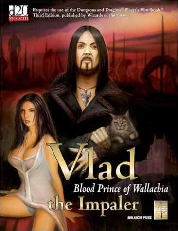 Vlad The Impaler: Blood Prince Of Wallachia (D & D d20 Fantasy Roleplaying) - Various
