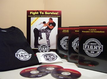 Fight To Survive!: Hardcore Self Defense Against Armed and Unarmed Attack - Mike Lee Kanarek, Randy S. Proto