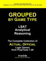 GROUPED by Game Type: LSAT Analytical Reasoning