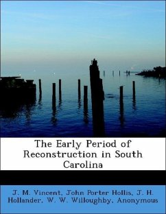 Early Period of Reconstruction in South Carolina