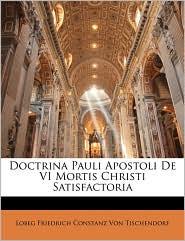 Doctrina Pauli Apostoli de VI Mortis Christi Satisfactoria