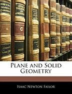Plane and Solid Geometry - Failor, Isaac Newton