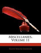 Miscellanies, Volume 11