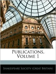Publications, Volume 1