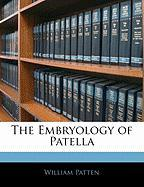 The Embryology of Patella - Patten, William