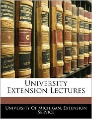 University Extension Lectures